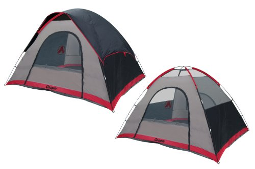 GigaTent Cooper Free Standing Family Dome Tent, 10 x 8-Feet x 71-Inch