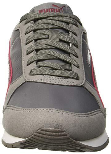 PUMA Unisex-Erwachsene St Runner V2 Nl Sneaker, Grau (Charcoal Gray-Cordovan 15), 44 EU - 2
