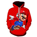 3D Printing Classic Game Men Hoodie Children Casual Hip-Hop Long Sleeves Sweatshirt Sweater-Picture Color_XL