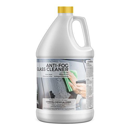 AutoGeneral - Anti-Fog Glass Cleaner - Ammonia Free Automotive Window and Windshield Cleaner - Spray Concentrate - Antifogging Formula - Industrial Strength - Professional Grade - 1 Gallon Jug