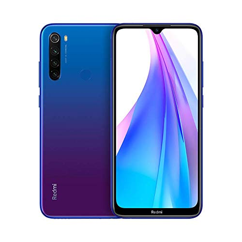 "Xiaomi Redmi Note 8T– Smartphone Display a goccia da 6,3"" Full HD+ (Quad Camera AI da 48MP, 4000 mAh, Jack de 3,5mm, NFC, Radio FM, Snapdragon 665, 3 + 32 GB Neptune, Blu"