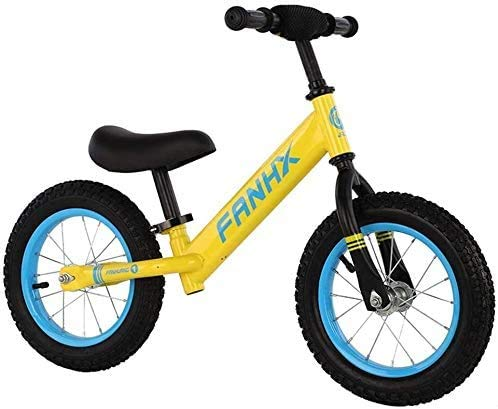 14Inch i Bambini Balance Bike per 3-7 Anni No Pedale Della Ragazza Di Addestramento Della Bicicletta con il Manubrio Regolabile/Seat Ultra, Leggero Acciaio Al Carbonio, il Vostro Bambino Può
