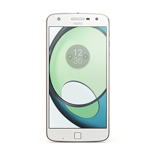 Motorola MOTO Z PLAY (XT1635) Factory Unlocked Phone - 5.5' Screen - 32GB - White (International Version - No Warranty)
