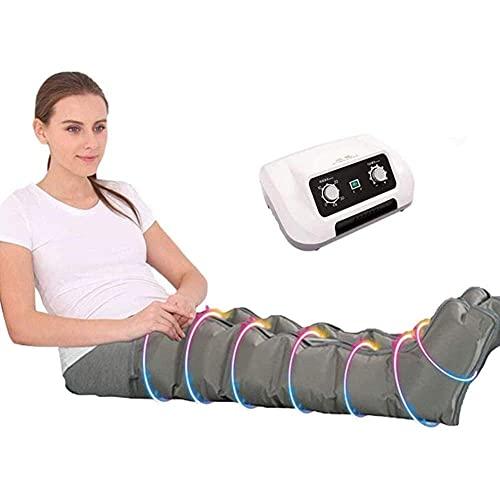 Compresión de aire Presoterapia portátil Envolturas de piernas Masajeador Circulación Cuidado de la salud Máquina de drenaje linfático del pie Masajeador de presión de aire para relajarse Bajar de p