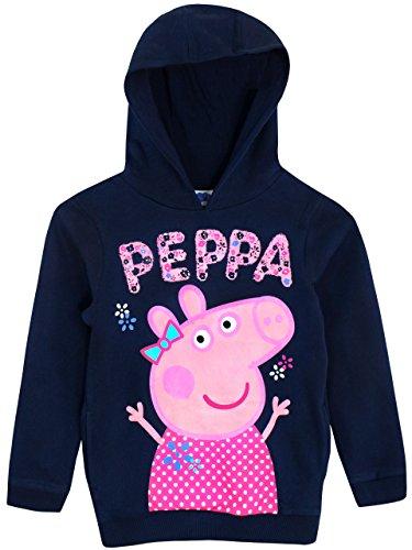 Peppa Wutz Mädchen Peppa Pig Sweatshirt 104cm