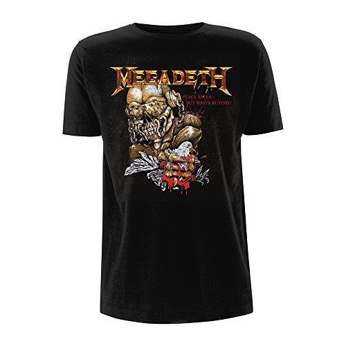Tee Shack Megadeth Peace Sells But Who's Buying Thrash Oficial Camiseta para Hombre