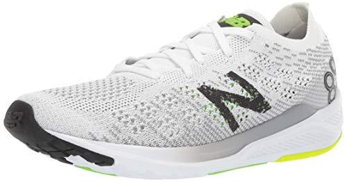 New Balance M890V7 h, Zapatillas de Running para Hombre, White Black RGB Green, 40.5 EU