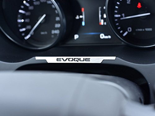 Evoque 2011-2018 Rear Trunk Switch Button Cover 1pc Stainless Steel Plate Interior Dashboard Trim NO Trunk Switch Button