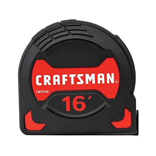 CRAFTSMAN Tape Measure, Easy Grip, 16-Foot (CMHT37456S)