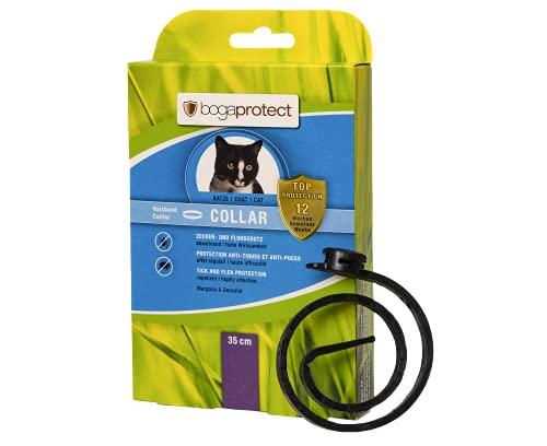 bogaprotect UBO0362 Collar für Katzen (35 cm) - Zeckenmittel - Flohschutz - Zeckenschutz - bis zu 12 Wochen vorbeugender Schutz gegen Zecken & Flöhe - Wirkstoff auf pflanzlicher Basis