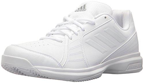 adidas Men's Approach Tennis Shoe, White/White/White, 9.5 M US