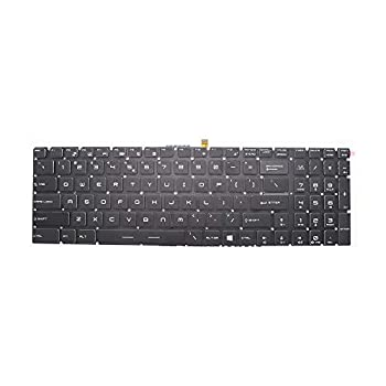 New Keyboard Replacement for MSI MS-1781 MS-16J1 MS-16J2 GS60 GE62 2QD 2QE 2QF GS70 GP62 GP72 GT72 GE72 GL62 GP60 with Backlit US