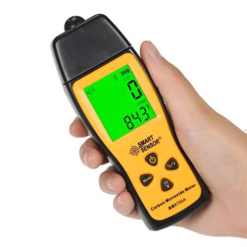 ANPIGGY Handheld Carbon Monoxide Meter,High Precision Carbon Monoxide Tester and Detector,Portable CO Gas Leak Detector,LCD CO Meter 0~1000ppm(Battery Included)