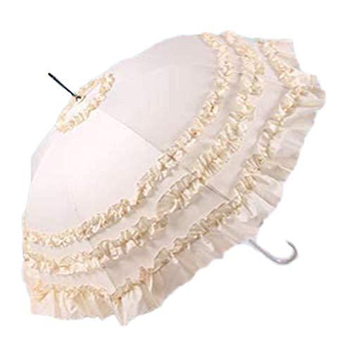 ZHANGYY Klappschirm, kompakter, verstärkter, winddichter Rahmen kann automatisch geöffnet Werden. Rutschfester Regenschirm schützt vor UV-Strahlen
