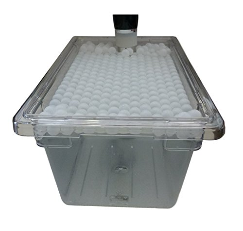 Sous Vide Container 4.75 Gal. (19 qt) and Floating...