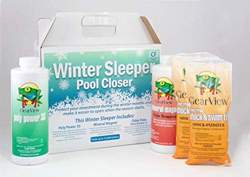 CLEARVIEW Winterizing and Closing Chemical Kit (15,000 Gallon)