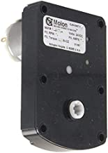 Molon CJM-2407-126 Gear Motor 1/64 hp 14 RPM 24 Volt DC