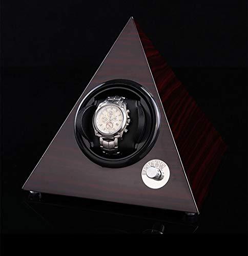 enrollador de reloj Cajas de enrollador de reloj Dispositivo de mesa batido piramidal Caja de bobinado automático Caja de reloj eléctrico Caja de motor Caja de reloj giratoria Caja de reloj gi
