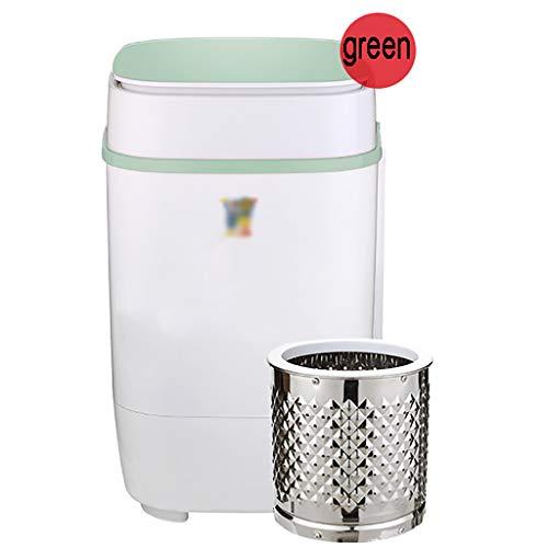 WSC Mini-Waschmaschine, Eingebautes Blaues Licht, Effiziente Und Saubere Kleine Waschmaschine(Color:C.)