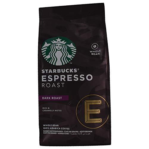 Starbucks Espresso Roast Dark Roast Whole Coffee Bean , 200g