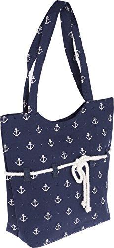 Küstenluder SIENA Sailor Anchor ROPE Anker Punkte TASCHE Rockabilly - 2