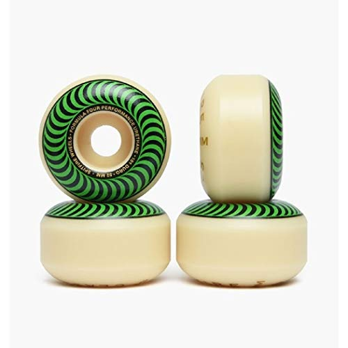 Spitfire Skateboard Wheels Formula Four 101D 52mn Classics Shape Wheels