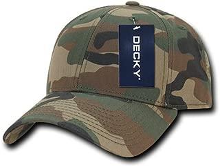 DECKY Structured Camo Baseball Cap,  Woodland