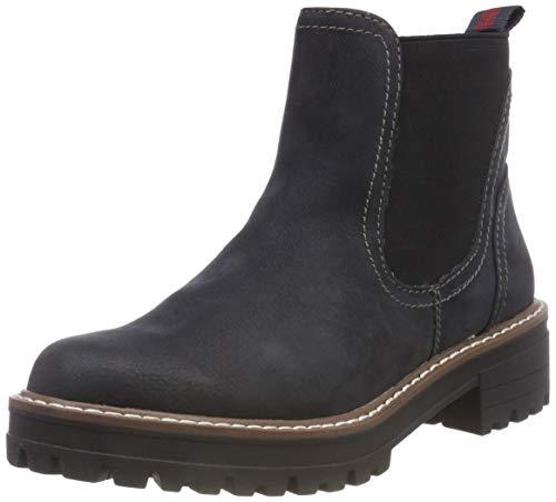 s.Oliver Damen 5-5-25425-21 805 Chelsea Boots, Blau (Navy, 42 EU