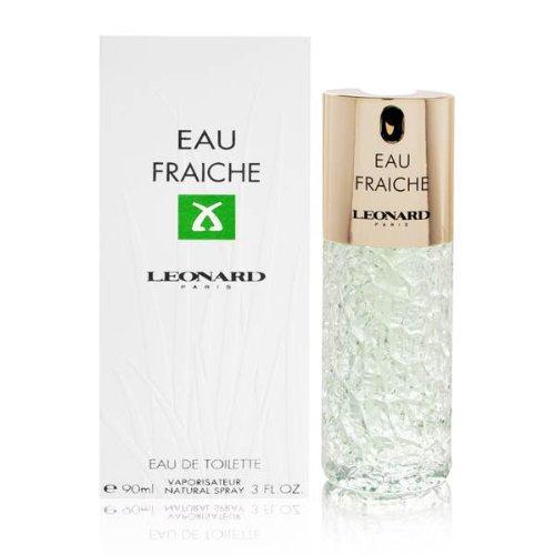 LEONARD Eau Fraiche Eau De Toilette Spray for Women, 3 Ounce