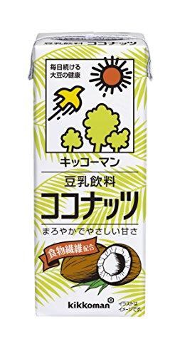 豆乳飲料 ココナッツ 200ml×18本 紙パック