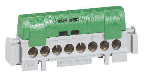 Legrand reparticion standard - Bornas repartidoras ip-2 tierra 8 salidas verde