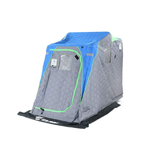 Clam Corporation 10941 Legend XL Thermal One Person Shelter, Ice Team Edition