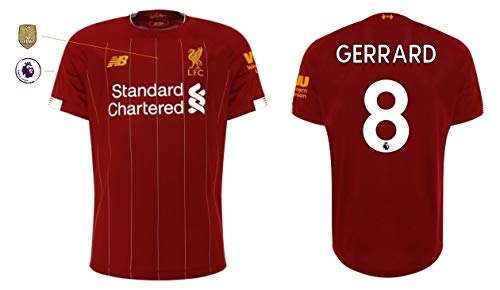 FC Liverpool Trikot Herren 2019-2020 Home PL WC (Gerrard 8, XL)