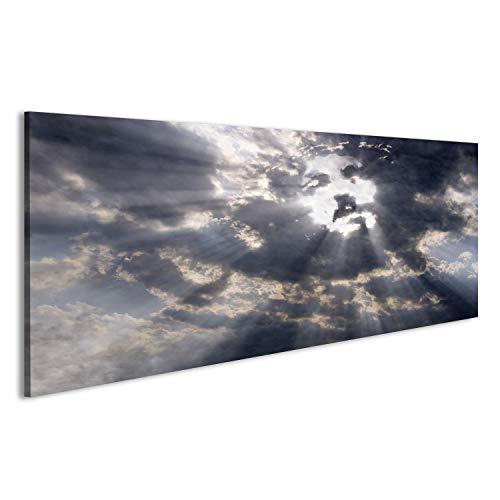 islandburner Quadro Moderno Gesù Faccia in Cielo della Nube Stampa su Tela - Quadro x poltrone Salotto Cucina mobili Ufficio casa - Fotografica Formato XXL