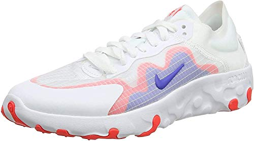 Nike Herren Renew Lucent Laufschuhe, Weiß (White/Hyper Royal/BRT Crimson 101), 40 EU