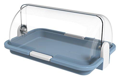 BIESSE Caja para Pan y Pasteles, Azul Claro, 30x14x21 cm, 6 Unidades