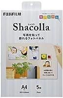 FUJIFILM 写真パネル shacolla(シャコラ) 5枚入 A4 WD KABE-AL A4 5P