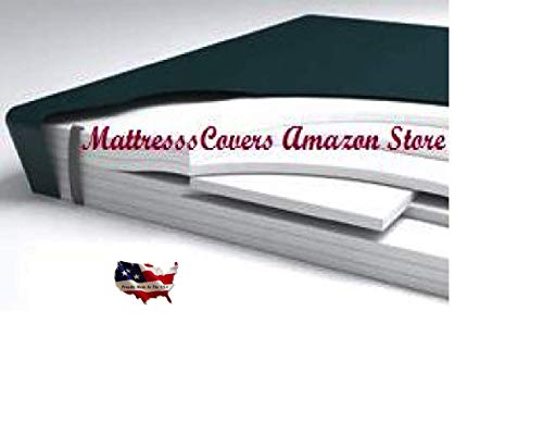 California King aveless Hardside Waterbed MattressW