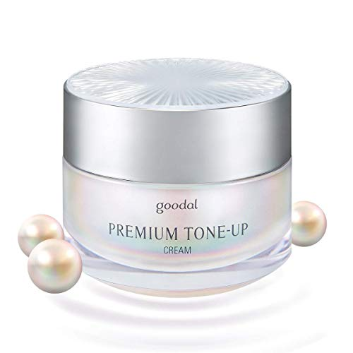 Goodal Premium Tone-up Cream for all skin | Moisturizing, Brightening, Instant Tone-up 1.69 fl oz. (1.7 Ounce, Silver2)