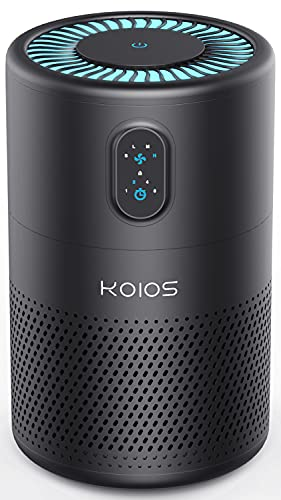 KOIOS Air Purifiers for Home Large Room 430ft², H13 HEPA Filter Air Cleaner for Bedroom Office,...