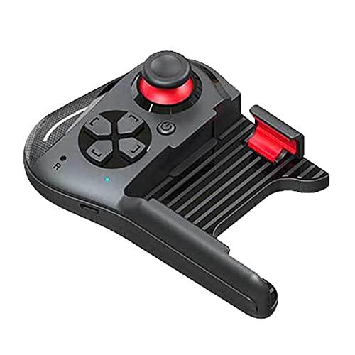DIDILI Controlador de Juegos MóVil InaláMbrico de una Sola Mano 360 Grados 3D Joystick Manejar de Juego para TeléFono Celular