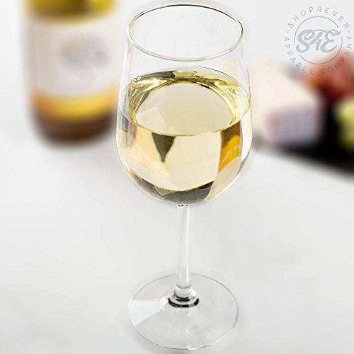 Shop4Ever I Can Wine All I Want I'm Retired Printed Stemmed Wine Glass (16 oz, Stem) (White Print)