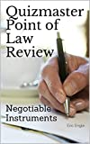 Image of Quizmaster Point of Law Review: Negotiable Instruments: Digital Law Flash Cards