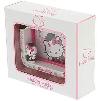 Hello Kitty Ceramic Gift Range Photo Frame Figurine,Mug and Tea Pot  Graduation Photo Frame 3.5  X 2.5