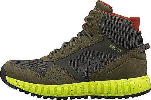 Helly-Hansen Men's Monashee ULLR HT Winter Boot, 481 Ivy Green/Beluga/Sweet Lime, 13
