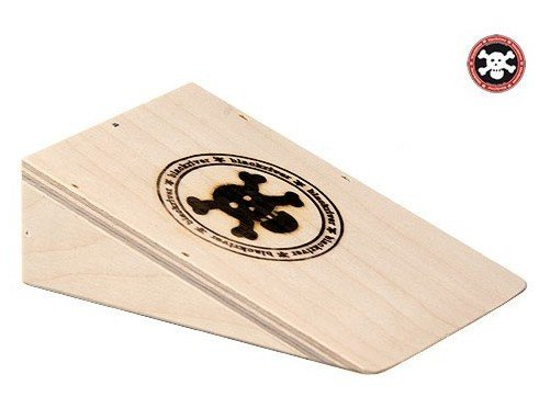 Fingerboard Wood Ramp Blackriver Ramps Pocket Kicker Fingerboard Jump Ramp - Black River