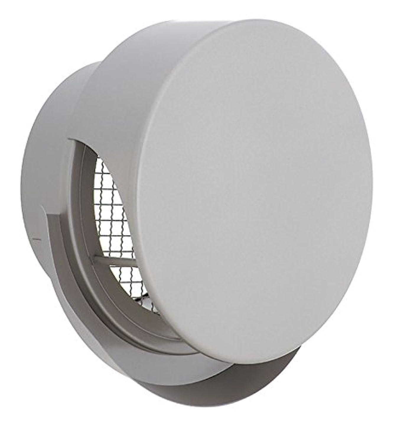 主婦怠オプショナルユニックス 屋外用製品 ステンレス製 グリル 外風対策 BSW150SR3M 丸型フラットカバー付 メッシュ