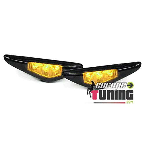 europetuning - 03945-2 REPETITEURS - CLIGNOTANTS NOIRS LEDS SERIE 3 E46 COUPE CABRIO 2003-2007