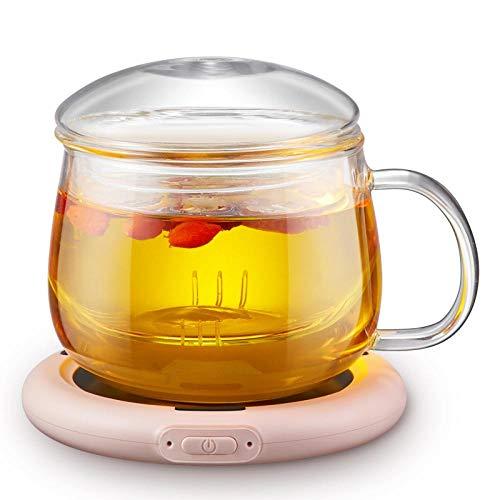 AFGH Posavasos USBcalefacción Calentador portátil Taza Taza Taza de café CalienteUSBOficina calienta Tazas Inteligente