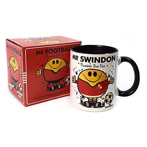 Mr Swindon Town Mug - Gift Merchandise for Football Fan